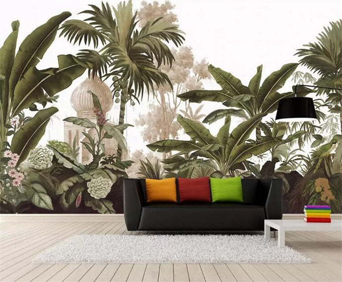 Make your space come to life with stunning nature inspired wall murals