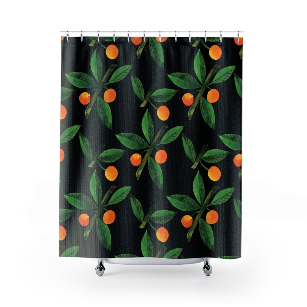 Abstract Fruits Shower Curtains