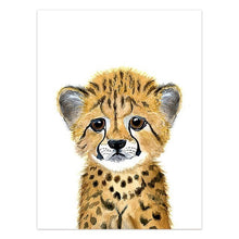 Load image into Gallery viewer, Baby Leopard Canvas Print