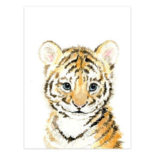 Load image into Gallery viewer, Baby Tiger Canvas Print