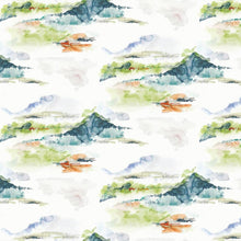 Load image into Gallery viewer, Colorful Mountains Mural Wallpaper (SqM)