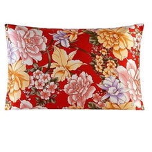 Load image into Gallery viewer, Scarlet Rose Mulberry Silk Pillowcase
