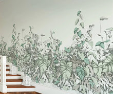 Load image into Gallery viewer, Secret Garden Mural Wallpaper (SqM)
