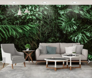 Tropical Green Scenery Mural Wallpaper (SqM)