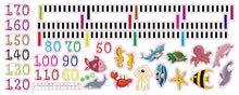 Load image into Gallery viewer, Sea Friends Height Measure Wall Decal
