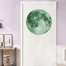 Load image into Gallery viewer, Fluorescent Moon Wall Decal