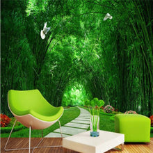 Load image into Gallery viewer, Bamboo Forest Wall Mural (SqM)