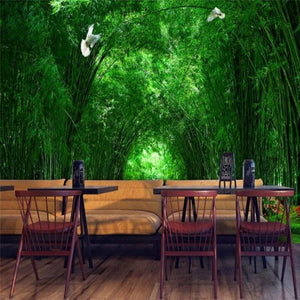 Bamboo Forest Wall Mural (SqM)