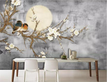 Load image into Gallery viewer, Blossom Tree in the Moonlight Mural Wallpaper (SqM)