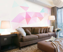 Load image into Gallery viewer, Colorful Geometric Fantasy Mural Wallpaper (SqM)