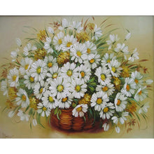 Load image into Gallery viewer, DIY Paint By Numbers - Delicate Chamomile Painting Canvas