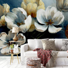 Load image into Gallery viewer, Delicate Spring Flowers Wall Mural (SqM)