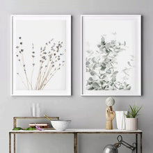Load image into Gallery viewer, Nordic Minimalist Plants Canvas Print