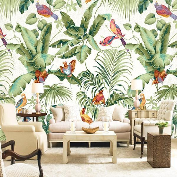Heaven Garden Mural Wallpaper (SqM)