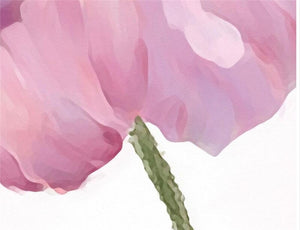 Pastel Poppies Mural Wallpaper (SqM)