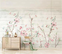 Load image into Gallery viewer, Pastel Sakura Wall Mural (SqM)