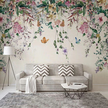 Load image into Gallery viewer, Pastoral Floral Dream Mural Wallpaper (SqM)