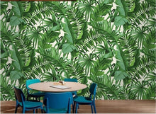 Load image into Gallery viewer, Rainforest Herbarium Wall Mural (SqM)