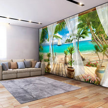 Load image into Gallery viewer, Sunny Beach Wall Mural (SqM)