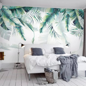 Under the Palms Mural Wallpaper (SqM)