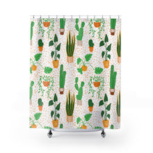 Load image into Gallery viewer, Botanical Story Shower Curtains