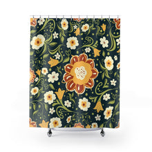 Load image into Gallery viewer, Fantasy Flowers Shower Curtains