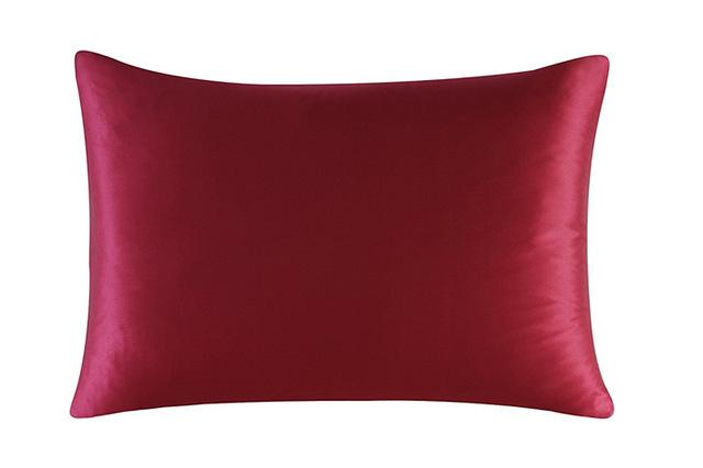 Wine Red Luxury Mulberry Silk Pillowcase