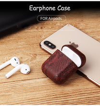 Load image into Gallery viewer, Luxury Leather Airpods Case
