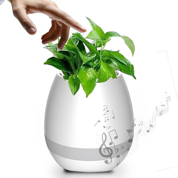 Smart Flowerpot Bluetooth Speaker
