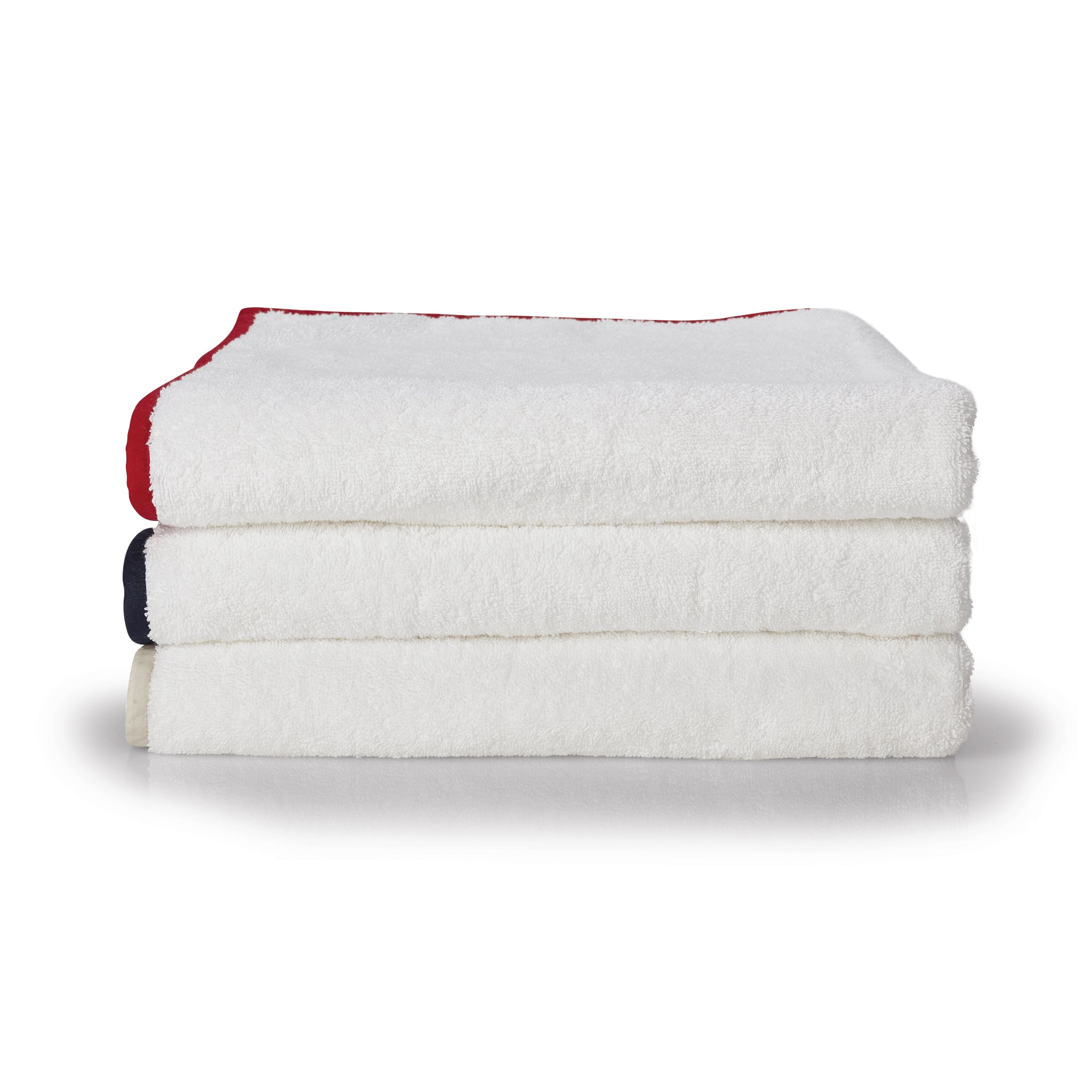 Red Organic Bath Towel