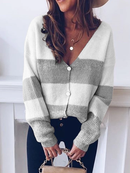 LONG SLEEVE WHITE YELLOW PINK GRAY WOMEN TOPS