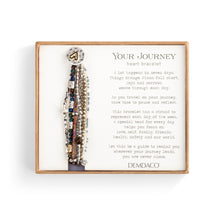 Load image into Gallery viewer, Beaded Prayer Bracelet - Gray