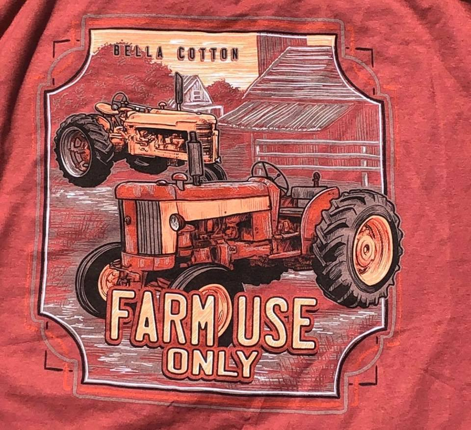 Farm use Only- Bella Cotton Short Sleeve Tee