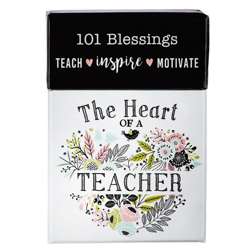 The Heart of a Teacher 101 Blessings