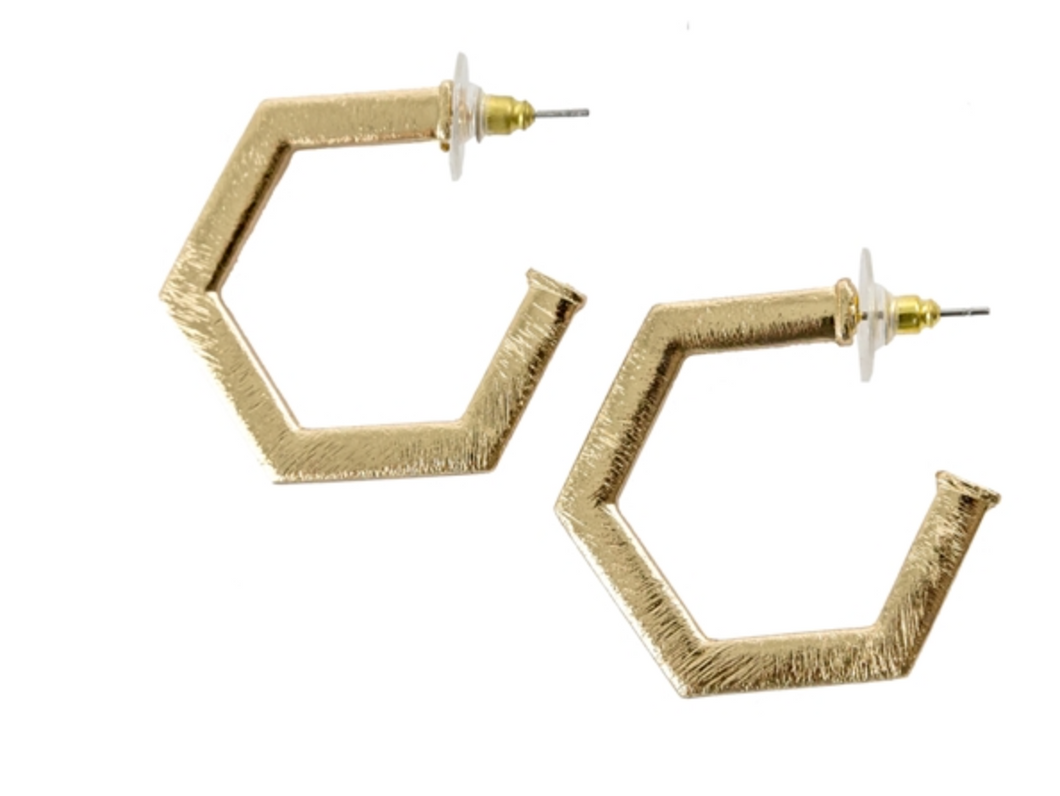 Beaumont Earrings - Gold