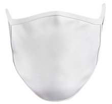 Load image into Gallery viewer, Basic Flat T-Shirt Mask -Black or White