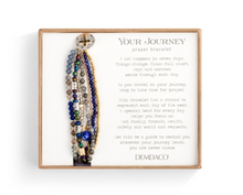 Load image into Gallery viewer, Beaded Prayer Bracelet - Indigo