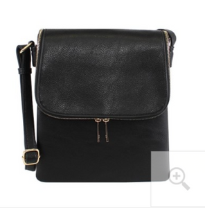 Black Concealed Carry Crossbody