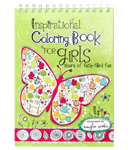 Load image into Gallery viewer, Inspirational Coloring Book For Girls