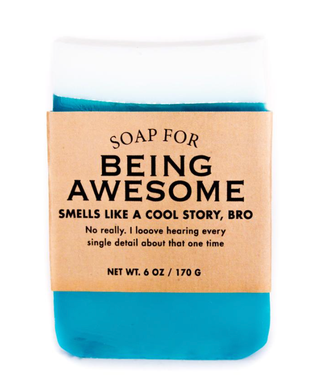 Being Awesome Soap by Whiskey River