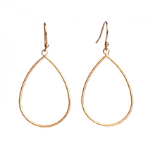 Load image into Gallery viewer, Small Teardrop Earrings {gold} by Meghan Browne