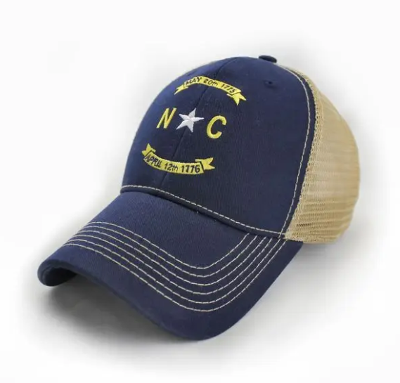 North Carolina Banner Trucker Hat