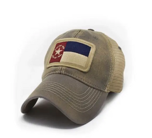 North Carolina 1861 Heritage Collection Flag Hat - Drifter Gray
