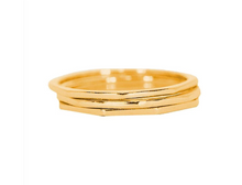 Load image into Gallery viewer, Pura Vida Delicate Stacked Rings - Gold or Silver