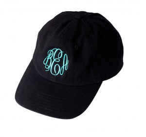 Monogrammed Ball Cap / Hat- Multiple Color Options {Includes Monogram}