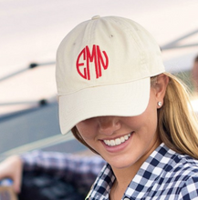 Load image into Gallery viewer, Monogrammed Ball Cap / Hat- Multiple Color Options {Includes Monogram}