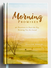 Load image into Gallery viewer, Morning / Evening Promises Devotional Flip Book - Jennifer Gerelds