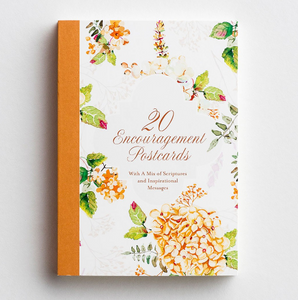 {20 Encouragements- Postcard Book}