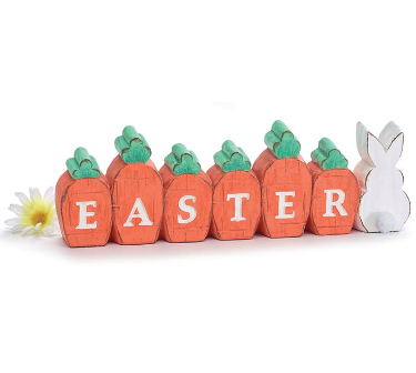 EASTER CARROT SHELF SITTER