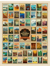 Load image into Gallery viewer, National Parks Jigsaw Puzzle